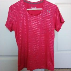 Under Armour Women's Heatgear Short Sleeve Shirt
